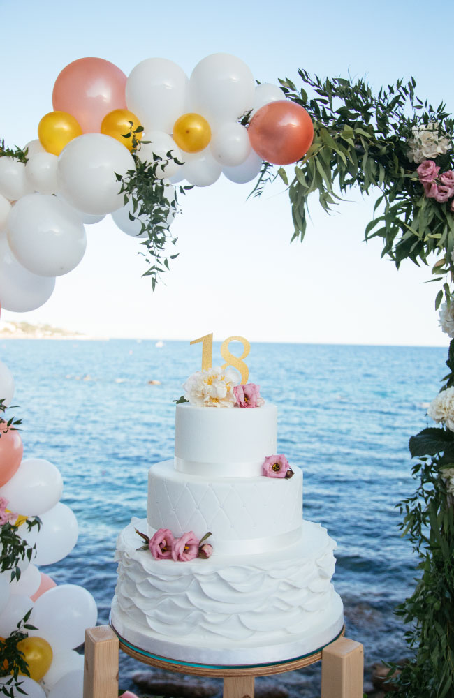 Party planning siracusa torta